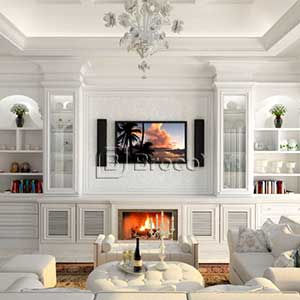 Broco Classic Living Room Cabinetry System