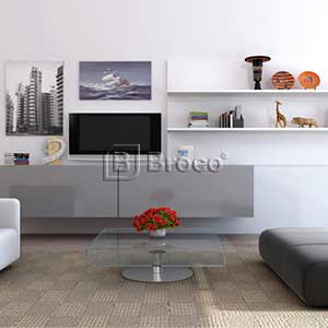 Broco Modern Living Room Cabinetry System