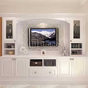 Broco Semi Classic Living Room Cabinetry System