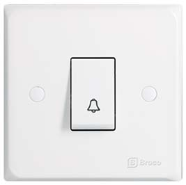 Broco Electrical - Single Push Button Switch