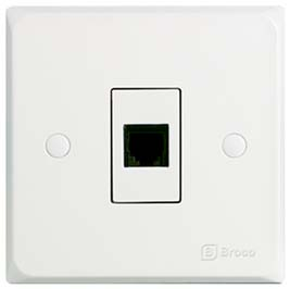 Broco Electrical - Telephone Socket Outlet (RJ11)