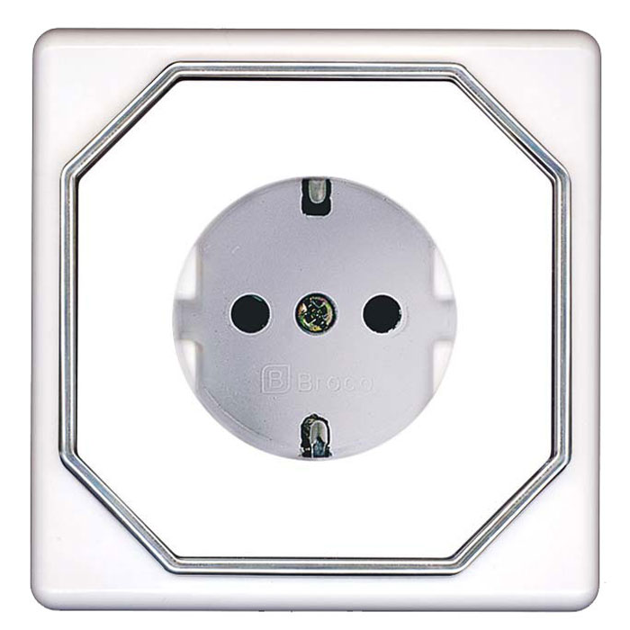 Broco Electrical - Socket Outlet with Child Protection